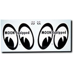 "MOON Equipped Eyes Decals - Right/Left 4"" Pair"