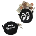 MOON Equipped Round Coin Case