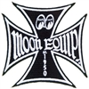 Maltese Iron Cross Moon Equip Patch - Black
