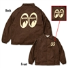 MOON Equipped Brown Windbreaker