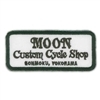 Moon Custom Cycle Shop Patch