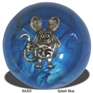 Rat Fink Shift Knob - Spalsh Blue
