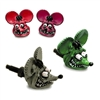 Rat Fink Head License Plate Bolts
