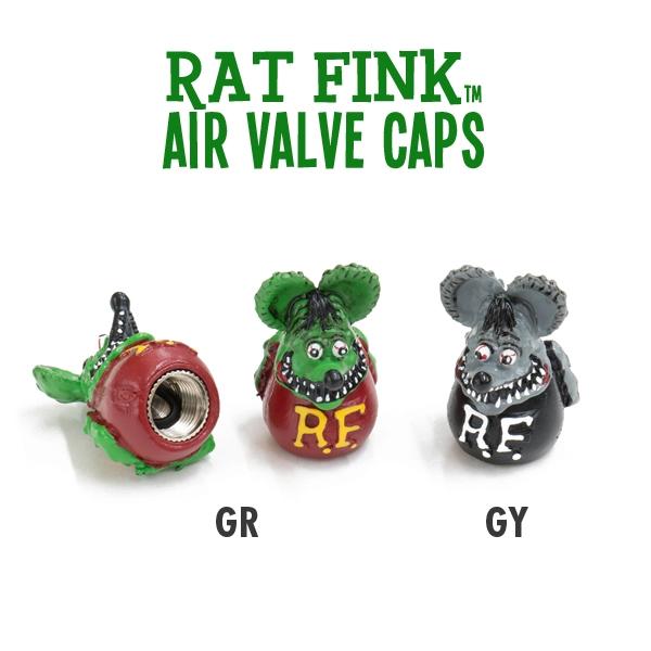 Rat Fink Air Valve Caps