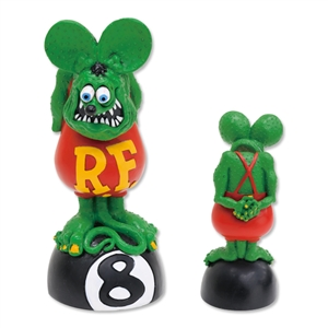 Rat Fink Bobbing Head on 8Ball