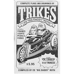 Plans & Drawings of Trikes Book