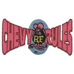 Rat Fink Chevy Rules Patch