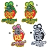 Rat Fink Patch 3-3/4 Inch