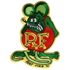 Rat Fink Green Color Patch - Large