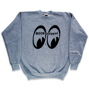 MOON Equipped Logo on Gray Sweatshirt