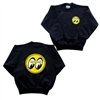 Kids MOON Logo on Black Sweatshirt