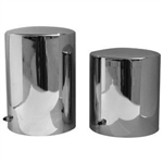 Oil Filter Cover - Chrome