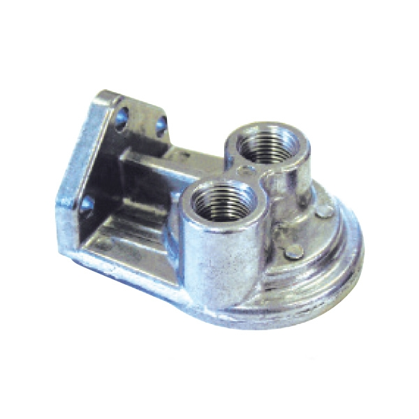 single remote oil filter bracket