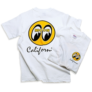 Moon california script t shirt for Moon valley motor care