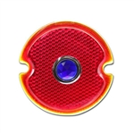 '33-'36 Tail Light Lens with Blue Dot