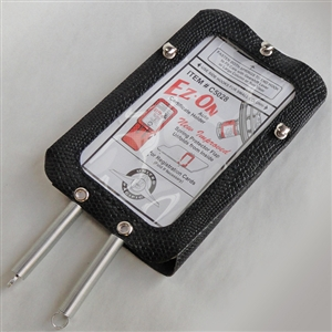 Nostalgic Registration Card Holder for Steering Column