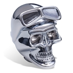 Chrome Skull with Goggle Shift Knob