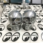Chrome Skull Valve Caps