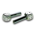Dice Chrome Door Lock
