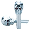 Skull Chrome Door Lock