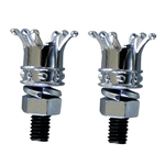 CROWN License Plate Bolts
