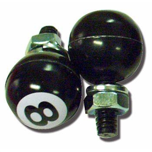 8 Ball License Plate Bolts