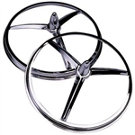 Tri-bar Headlight Ring Cover 5.5""