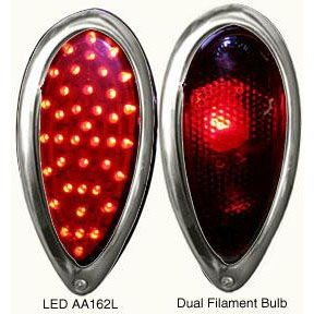 1938 39 Ford Tail Light With Led