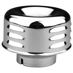 "Air Cleaner Louvered 2 5/8"" Neck"