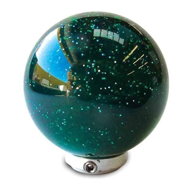 Metal Flake Shift Knobs 2 Inch Diameter Ball Six Colors