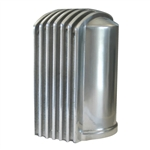 Finned Oil Filter Cover