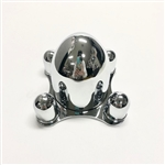 Chrome 4 Lug Spider Cap