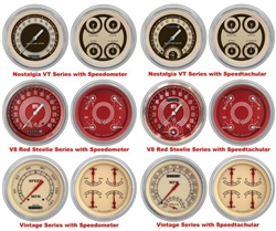 '51-52 Chevy Car Package - Gauge Set