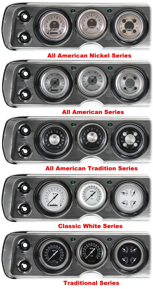 '64-65 Chevelle Package - Gauge Set