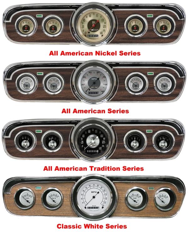 66 Mustang Parts >> '65-66 Mustang Package - 5 Gauge Set
