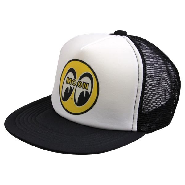MOON Logo Trucker Hat - Black