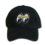 MOON Logo Hat - Black