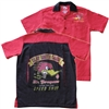 Clay Smith Bowling Shirt - Black & Red