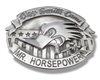 Clay Smith Cams Mr. Horsepower Belt Buckle