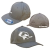 Clay Smith White Outline Flexfit Hat