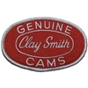Clay Smith Oval Patch - Red with White