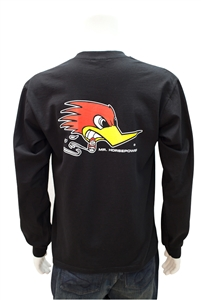 Clay Smith, Mr. Horsepower Long Sleeve T-Shirt - Black