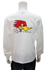 Clay Smith, Mr. Horsepower Long Sleeve T-Shirt - White