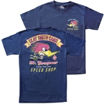 Clay Smith Vintage Speed Shop T-shirt - Navy