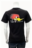 Kids Clay Smith Mr. Horsepower Traditonal Design T-Shirt - Black