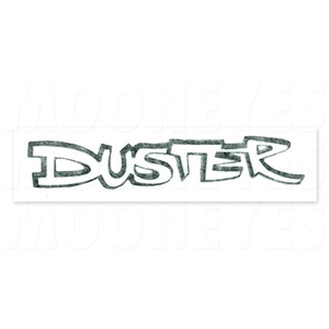 DUSTER Decal