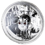 "Skull in 5.75"" Halogen Headlight"