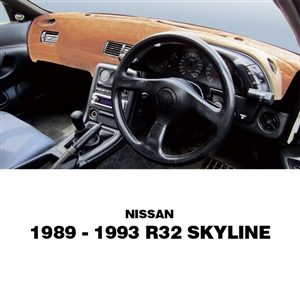 1989-93 Nissan R32 Skyline Original Dashboard Cover