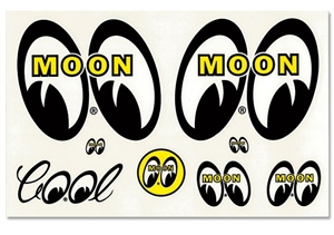 MQQN Assorted Decal Sticker Sheet