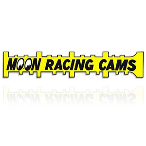MOON Racing Cams Sticker (L)